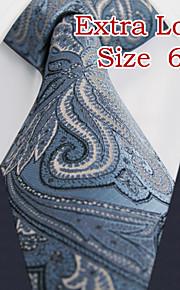Men's Business Paisley Laight Blue Ties