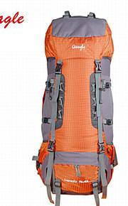 Paquetes de Mochilas de Camping/Fundas Para Mochila ( Verde Claro/Naranja , 85 L) Impermeable/A prueba de lluvia/Listo para