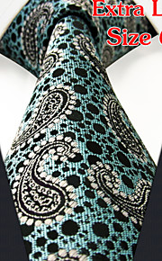 Men's Business Dots Green Ties