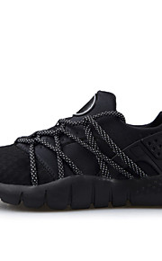 Men's Shoes Casual Tulle/Fabric Fashion Sneakers Black/Blue