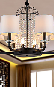 Chandeliers Crystal Modern/Contemporary Bedroom/Dining Room/Study Room/Office Metal