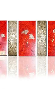 visuele star®group handgemaakt canvas olieverf abstracte schilderkunst kunst klaar te hangen