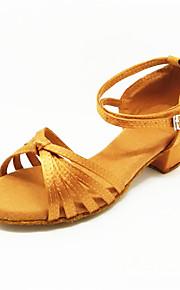 Детская обувь - Атлас - Номера Настраиваемый ( Черный/Коричневый ) - Латино