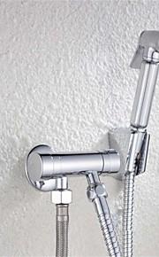 bagno donna rubinetto in ottone mano rame valvola di riempimento dello spruzzatore bidet rubinetto cromato