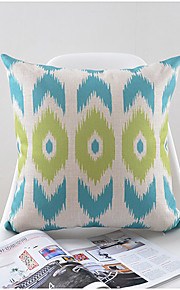 Modern Geometric Pattern Cotton/Linen Decorative Pillow Cover
