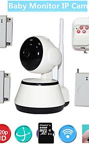 wifi video babyfoon beveiliging ip camera hd voor oude kinderen veiligheid met draadloze deur raam open inbraakalarm sensor