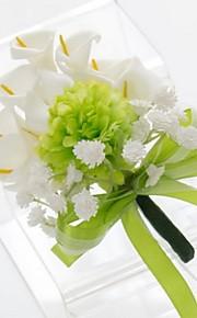 Small Size Green Calla Wedding/Party Boutonniere (9*16cm)