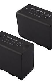 videocamera batterij voor BP-975 7.4V 2x7800mah voor Canon XF305 XF300 XF105 XF100 xl H1S XL H1A eos c300 eos c300pl