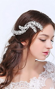 Women's Sterling Silver / Alloy Headpiece - Wedding / Special Occasion / Casual Hair Clip 1 Piece