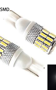 t10 30smd 4014 5W 400lm koud wit LED-lampen auto (ac / dc12-24 v)