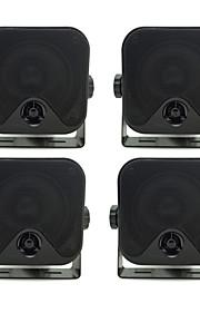 """3.5""""Heavy Duty Waterproof Marine Box Speakers for Boat ATV UTV 2 Pairs(200W)"""