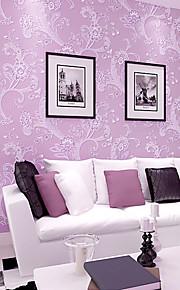 contemporaine papier peint art déco 3d mur de papier peint de campagne chaleureuse couvrant l'art non-tissé mur de tissu