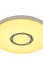 Rain Flower Ceiling Mounted LED Changable Light Source Color White/Warm White/Yellow Modern Metal