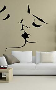 벽 스티커 벽 데칼 스타일의 창조적 인 개성 PVC 벽 스티커