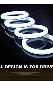 LED - Bil/SUV/ATV/Off-road - LED angel eyes/Kørelys til dagskørsel ( Hvid/Blå/Rød/Gul/Grøn , 6000K )
