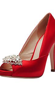 Chaussures de mariage - Rouge / Blanc / Champagne - Mariage / Habillé / Soirée & Evénement - Bout Ouvert / A Plateau - Sandales - Homme