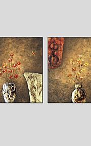 oljemaleri sett med 2 abstrakt stil, lerret materiale med strukket ramme klar til å henge størrelse: 70 * 70cm * 2stk.