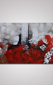 håndmalede moderne abstrakt farvestrålende maling oliemaleri på lærred klar til at hænge