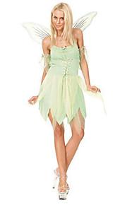 Eventyr kostymer - Halloween/Karneval - Kostume - Kjole/Armbånd/Vinger - til Kvinnelig