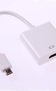 Type-C USB 3.1 mâle vers HDMI câble adaptateur femelle