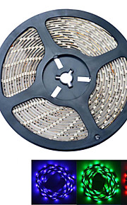 JIAWEN® 5 M 300 5050 SMD Rouge Vert Bleu Etanche 60 W Bandes Lumineuses LED Flexibles DC12 V