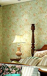 contemporaine papier peint art déco 3D retro rétro mur de papier peint pastoral couvrant l'art non-tissé mur de tissu