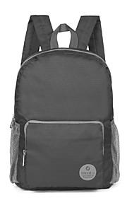 TINYAT 2015 Korean Style Men Women Waterproof Nylon Travel Folding Backpack Large Shopping Backpack T116 Gray