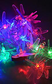 YouOkLight 4 M 20 LED Dip Rouge Vert Bleu Couleurs changeantes 4 W Bandes Lumineuses LED Flexibles AC100-240 V