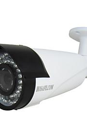 Waterdicht/Dag Nacht/Bewegingsdetectie/PoE/Dual Stream/Remote Access/IR-cut/Plug and play - Outdoor - HOSAFE - Kogel - IP Camera