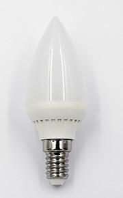 5W E14 / E12 LED-lysestakepærer S14 10PCS SMD 450 lm Varm hvit / Kjølig hvit / Naturlig hvit Dimbar / Dekorativ AC 220-240 / AC 110-130 V