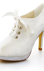 Chaussures de mariage - Ivoire - Mariage / Habillé - Talons / A Plateau - Talons - Homme