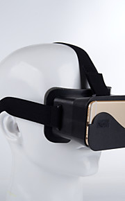 DIY 3d google pap briller virtual reality til iPhone 6& 6 plus / note 4 / S5 mv 4,3 tommer - 6,3 tommer smartphone