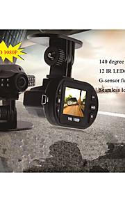 CAR DVD - 2 MP CMOS - 1600 x 1200 - Vidvinkel / 720P