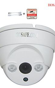 hosafe 720p / 960p / 1080p hd ip kamera m / 2 vifte IR LED, ONVIF, bevægelsesdetektering, gratis belønning PoE kabel
