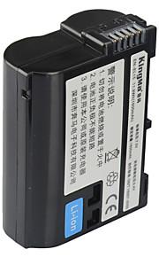 Kingma en-EL15 digitale camera batterij voor Nikon D600 D610 D600E D800 D800E D810 D7000 D7100 D750 v1 mh-25
