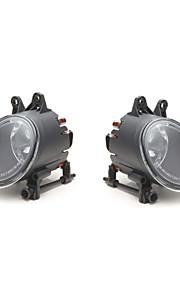 pair paraurti anteriore griglia di guida lampada luce nebbia per 02 03 04 05 audi a4 berlina b6