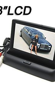 4.3 inch monitor auto-monitor in twee richtingen av