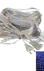 JIAWEN® 2 M 192 LED Dip Blanc chaud / Blanc / Rouge Vert Bleu / Bleu Connectible 8 W Guirlandes Lumineuses AC220 V