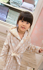 Girl's Coral Fleece Flannel Warm Homewear , Floral Others Winter / Fall