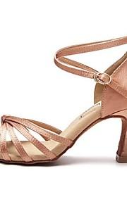Zapatos de baile ( Negro / Marrón / Rosado ) - Danza latina - No Personalizable - Tacón Luis XV