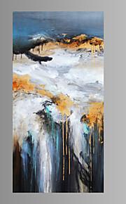 fantasi / Botanisk / Rart / Moderne / Pop Art Lerret Print Et panel Klar til å henge , Lodrett