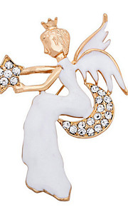 Broche Alliage Or / Argent Femme