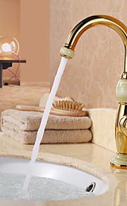 bad vask tappekran med ti-PVD overflate antikk design tappekran