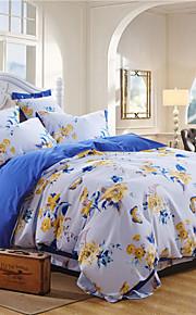 4つのアメリカの適切なボタンシリーズの重い生地の140グラムを印刷する反応duomaセット寝具
