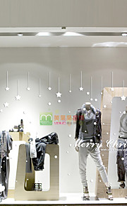 Christmas Window Sticker Contemporary , Art Deco 105*58cm