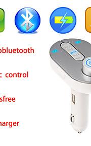nye musicroad trådløse i bilen bluetooth FM transmitter, musik kontrol og håndfri opkald til smartphones iphone