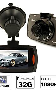 """CAR DVD - 1/4"""" farve-CMOS - 2592 x 1944 -Full HD / Video ud / G-sensor / Vidvinkel / 720P / 1080P / HD / Anti-stød /"""