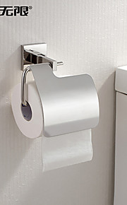 "Toilet Paper Holder Stainless Steel Wall Mounted 150 x 130 x 90mm (5.9 x 5.11 x 3.54"") Stainless Steel Contemporary"