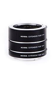 tubi di estensione macro alluminio af Kooka-se47a kk per Sony E-mount lente nex-5N nex6 NEX-7 A6000 A3000 A5000
