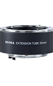 Kooka kk-n25 messing af extensie buis met TTL automatische belichting voor Nikon 25mm ingang slr-camera's